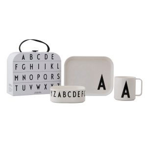 Design Letters barnservis set A