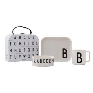 Design Letters barnservis set B