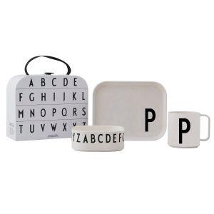 Design Letters barnservis set P