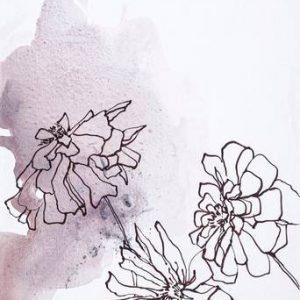 Poster Soft Flower 2