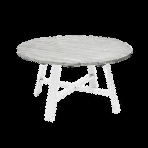 SHABBY CHIC bord ø 138 cm Grå