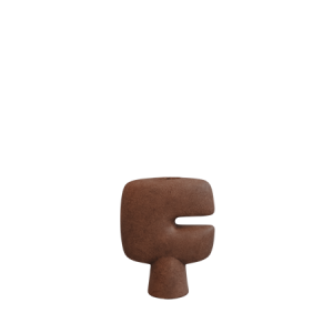 Tribal Vase Mini Terracotta